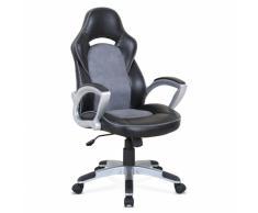 Poltrona racing sedia ufficio sportiva gaming ecopelle ergonomica E...