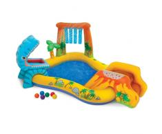 Piscina gonfiabile bambini Intex 57444 Dinosaur Play Center gioco