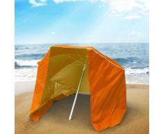 Ombrellone mare portatile moto leggero alluminio spiaggia tenda 200...