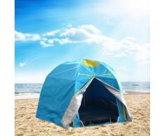 Tenda da spiaggia mare parasole campeggio camping protezione uv ant...