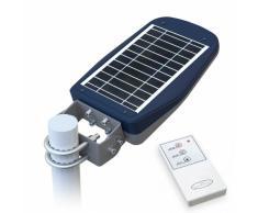 Lampione Stradale Solare a Led Giardino con Telecomando e Sensore d...