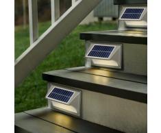 Applique lampada muro led solare giardino segnapassi SHARK