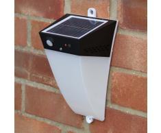 Applique lampada muro led solare giardino sensore ALARM