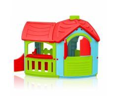 Casetta plastica bambini giardino esterno VILLA TRIANGOLO