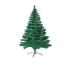 Albero di Natale artificiale sintetico ecologico 210 cm