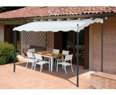 Ricambi gazebo 3x2 metri giardino acciaio ingresso bar hotel PERGOLA