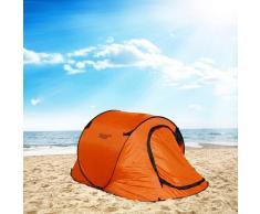 Tenda da spiaggia mare TendaFacile XXL campeggio camping