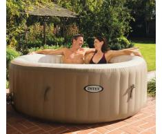 Idromassaggio gonfiabile Intex 28408 Bubble spa vasca rotonda 216x7...