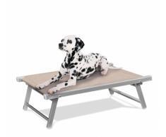 Brandina per cani lettino alluminio sdraio animali cuccia DOGGY