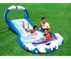 Scivolo gonfiabile bambini Intex 57469 Surf 'N Slide gioco