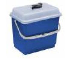 TTS Secchio con coperchio 4 litri blu