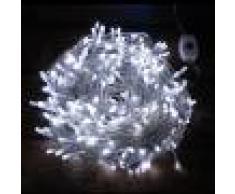 Luci Da Esterno Catena 24 m, 240 microled 2 colori, bianco o multicolor, cavo trasparente
