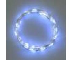 Luci Da Esterno Catena a batteria lunga 4 m con 40 microled luce bianco fredda