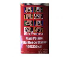 Plaid copertina coperta pile bimbo bambino Disney Mickey TU