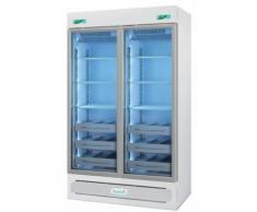 Frigorifero professionale medika 2t600 ect-f - 2 temperature - 8 ripiani