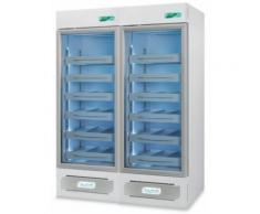 Frigorifero professionale medika 2t1000 ect-f - 2 temperature - 6 ripiani 6 cassetti