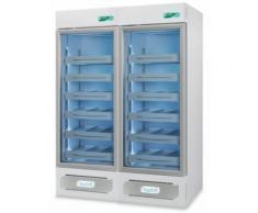 Frigorifero professionale medika 2t1000 ect-f - 2 temperature - 8 ripiani