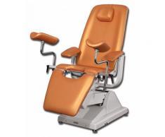 Poltrona ginecologica gynex professional - 3 motori con portarotolo, vari colori - 10 arancio amsterdam