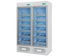 Frigorifero professionale medika 2t800 ect-f - 2 temperature - 6 ripiani 4 cassetti