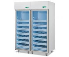 Frigorifero professionale medika 2t1500 ect-f - 2 temperature - 8 ripiani 2 cassetti
