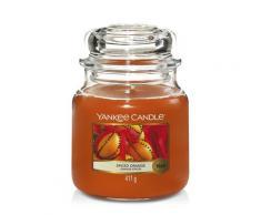 Yankee Candle Candele in Giara Spiced Orange Candela 411g