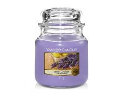 Yankee Candle Candele in Giara Dried Lavender & Oak Candela 411g