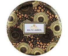Voluspa Tin Baltic Amber 3 Wick Tin Candle Candela 340g