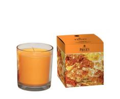 PRICE'S CANDLES Boxed Amber scented candle in glass jar Candela