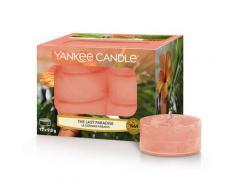 Yankee Candle Candele Tea Light e Sampler THE LAST PARADISE Candela 872g