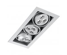 faretto incasso led 9x1w