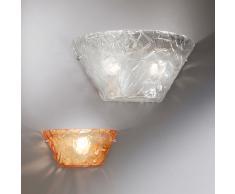 lampada parete vetro nero