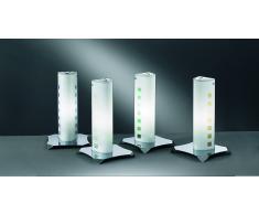 lampada tavolo vetro decorato