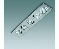 faretto incasso 5 led 1w