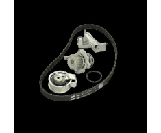 GATES Pompa Acqua + Kit Cinghia Distribuzione OPEL,CHEVROLET,VAUXHALL KP15634XS 96941103 Pompa Acqua + Kit Cinghie Dentate,Pompa