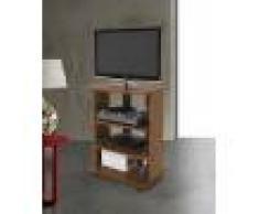 Caesaroo Mobile porta Tv Elide 60x45xh81 cm Noce Antico Noce