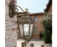 LIBERTI LAMP linea GARDEN Athena Lanterna A Parete Quadrata Classica Illuminazione Esterno Giardino