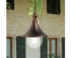 LIBERTI LAMP linea GARDEN Dione Nero Lampada A Sospensione Plafoniera In Alluminio Per Esterno Classica