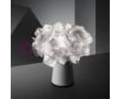 Slamp Clizia Fume' Lampada Da Tavolo Design Moderno H.25