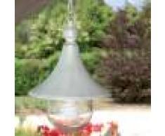 LIBERTI LAMP linea GARDEN Dione Bianco Lampada Per Esterno A Sospensione Plafoniera Classica Bianca