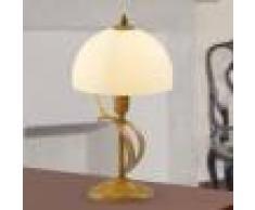 Lam Export Marostica Lampada Da Comodino In Ferro Stile Classico Rustico