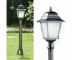 LIBERTI LAMP linea GARDEN Athena Lampioncino Palo Lampada Quadrata Classica Illuminazione Esterno Giardino