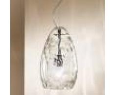 Due P Illuminazione Kiara Lampada A Sospensione In Vetro Soffiato Design Moderno D. 20 Cm