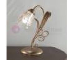 Due P Illuminazione Sofia Lampada Da Tavolo E Comodino Stile Classico Rustico