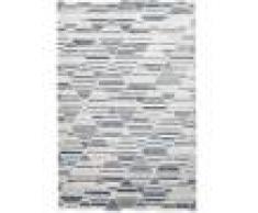 RugVista Tappeto Romb 160X230 Soggiorno Moderno Grigio Chiaro/Azzurro/Beige
