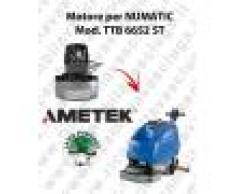 Numatic TTB 6652 ST MOTORE aspirazione AMETEK lavapavimenti