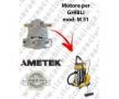 Ghibli & Wirbel M 31 motore aspirazione per macchina estrattrice moquette GHIBLI