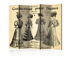 Paravento 5 Pannelli - Confections Pour Dames Ii 225x172cm Erroi