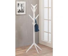 Appendiabiti In Legno 45x45x176 Cm Arrow Bianco