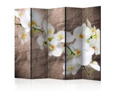 Paravento 5 Pannelli - Impeccability Of The Orchid Ii 225x172cm Erroi