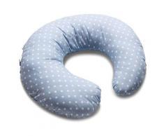 Cuscino Ciambella Per Allattamento Anatomico Italbany Pois Azzurro